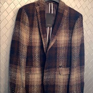 Mens Jacket Zara size 44 Regular winter blazer